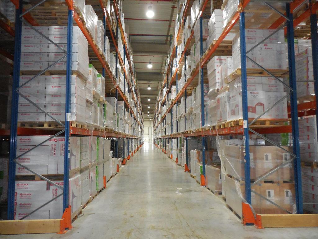 Solutions logistiques - racks