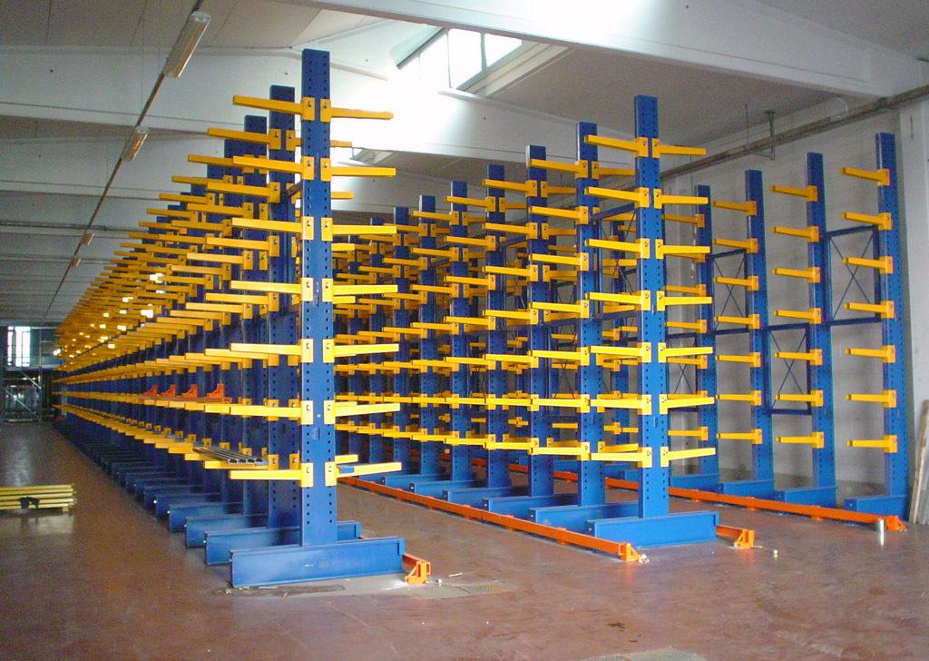 Solutions logistiques - Cantilevers