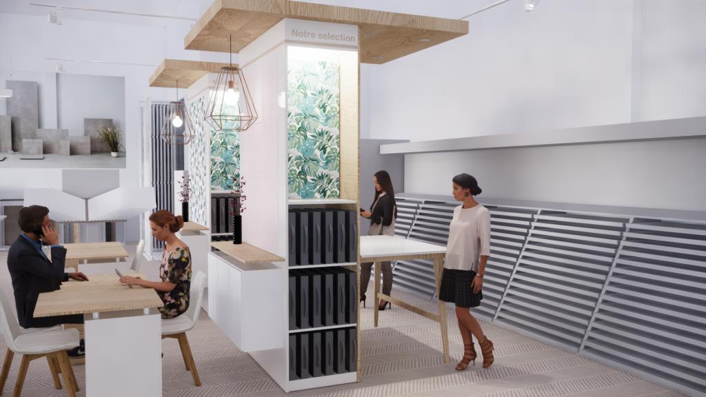 Architecte retail