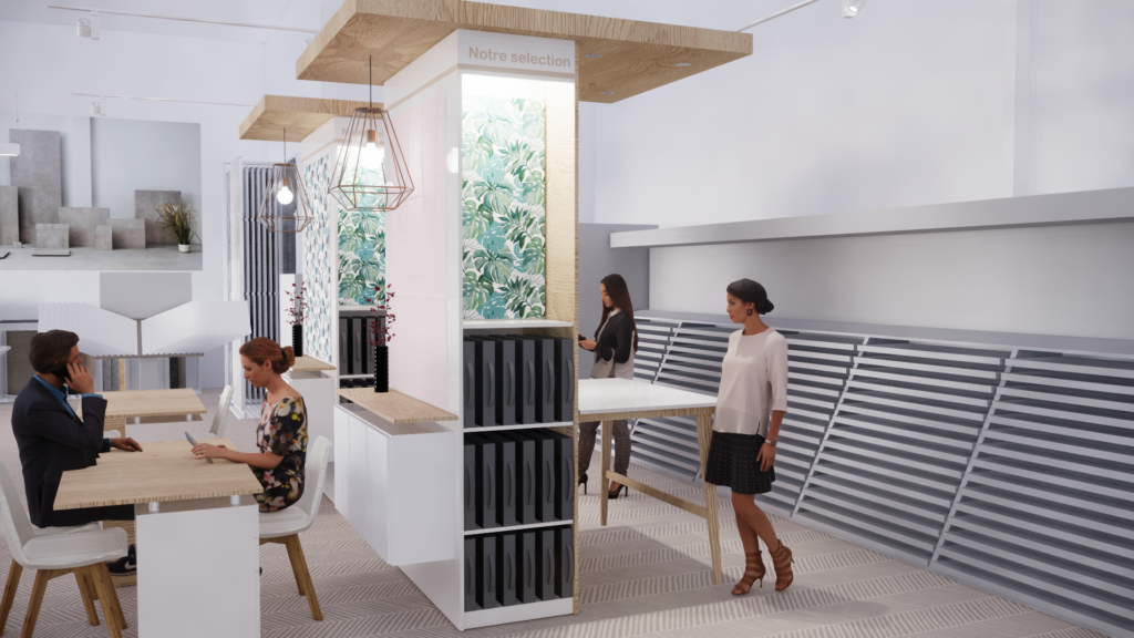 Architecture retail - agencement